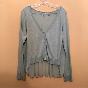 Anthropologie Knitted & Knotted Light Sweater